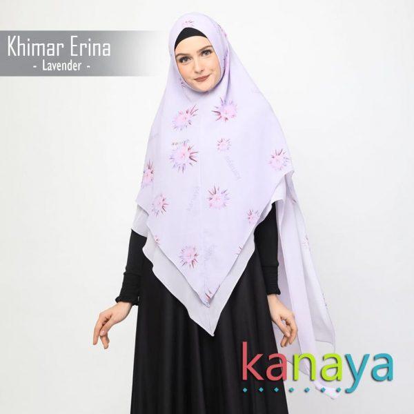 Kanaya Khimar Erina Lavender-ahzanimuslimstore