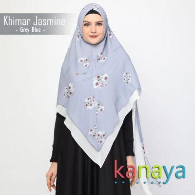 Kanaya Khimar Jasmine Blue-ahzanimuslimstore