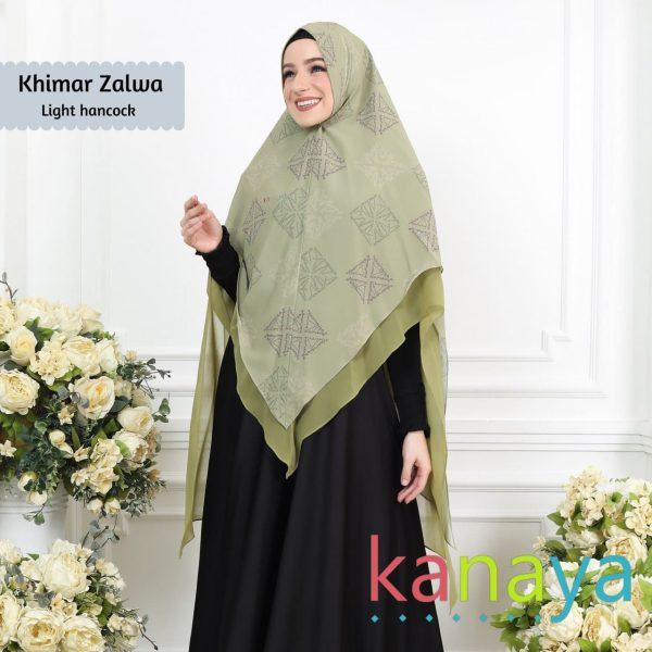 Kanaya Khimar Zalwa Light Hancock-ahzanimuslimstore