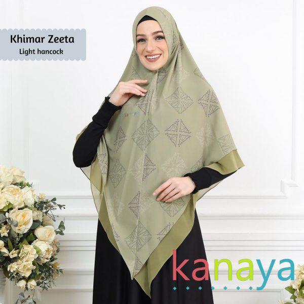 Kanaya Khimar Zeeta Light Hancock-ahzanimuslimstore