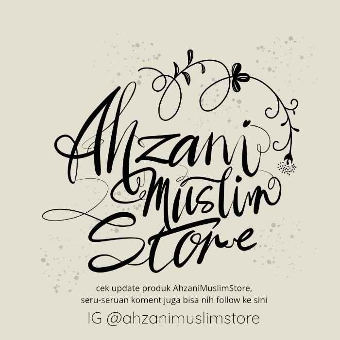 instagram @ahzanimuslimstore
