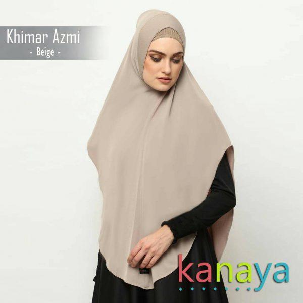 kanaya boutique khimar polos azmi