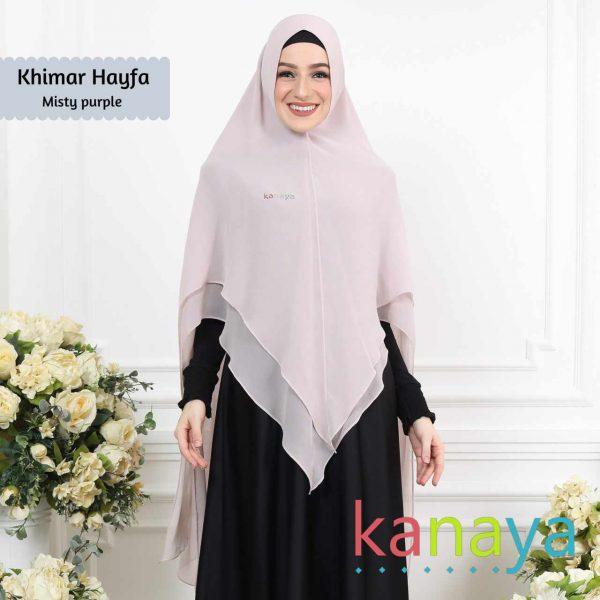 kanaya boutique khimar hayfa mistypurple-ahzanimuslimstore