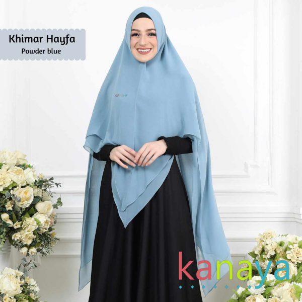 kanaya boutique hayfa powderblue-ahzanimuslimstore