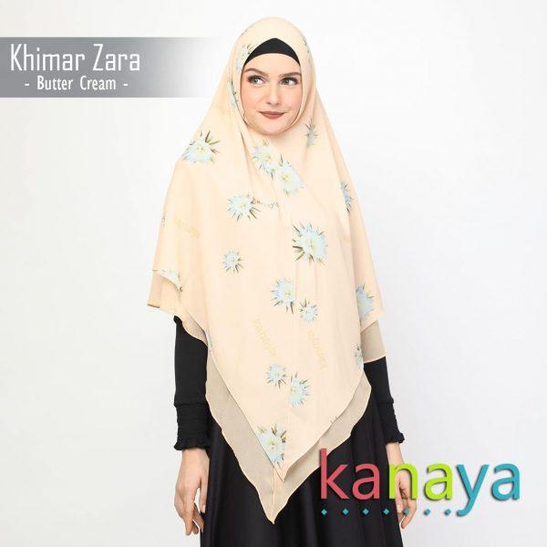 kanaya khimar zara buttercream-ahzanimuslimstore