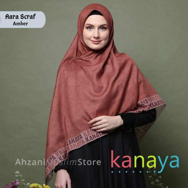 kanaya butik aara scraf -ahzanimuslimstore
