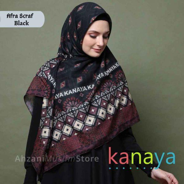 kanaya boutique afra scraf -ahzanimuslimstore