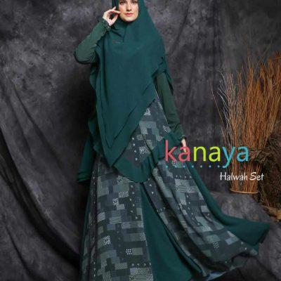 halwah set kanaya boutique ahzanimuslimstore